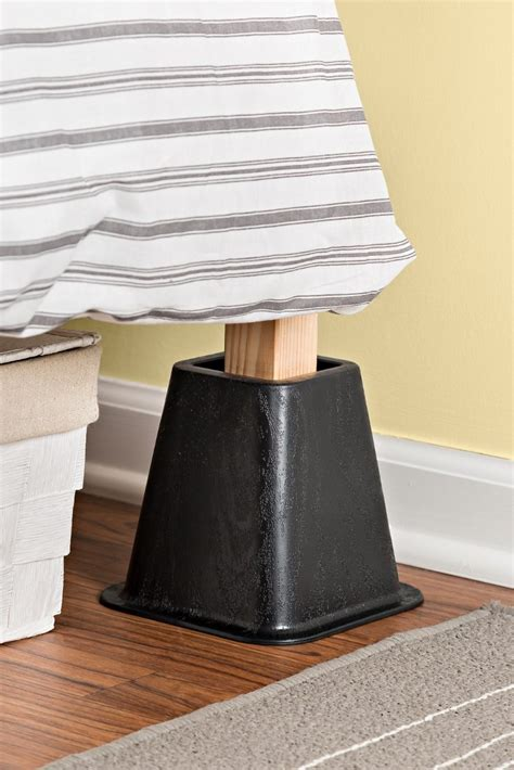 bed frame risers how to use bed frame risers overstock com