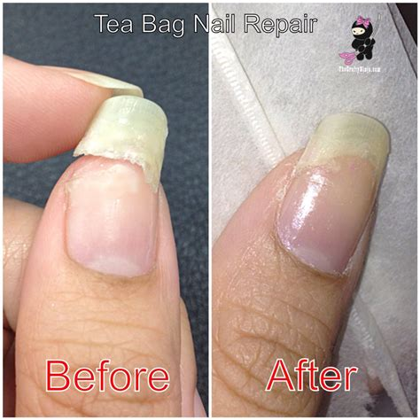 nail cracked another way to repair a broken nail w tea bag nail care tricks