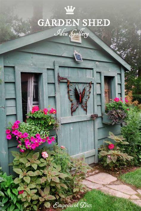 creative garden shed designs empress  dirt