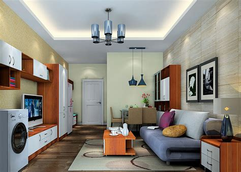 modern house interior with simple ceiling lights