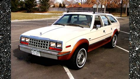 4x4 station wagon 1984 amc eagle 4x4 station wagon 2 tone paint