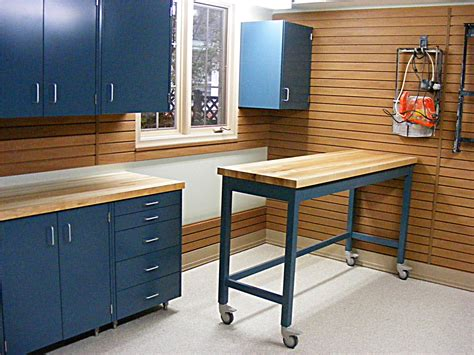 work bench storage garage workbenches and cabinets rumah minimalis