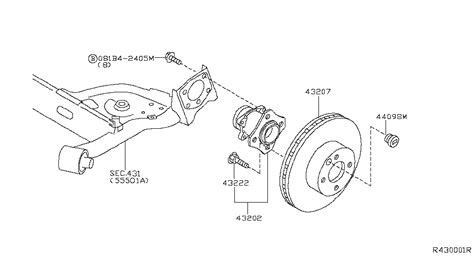 2008 nissan sentra parts diagram rear axle for 2008 nissan sentra nissan parts deal