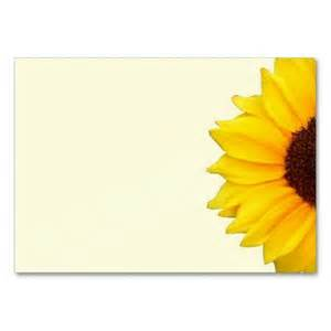 Blank Sunflower Business Card Template by 17 Best Images About Gardening Business Cards On