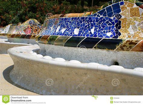 gaudi bench bench by gaudi stock images image 372444