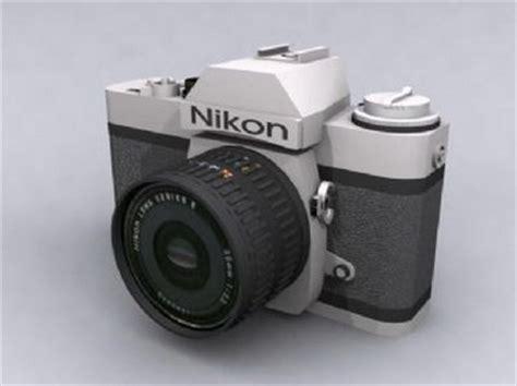 nikon digital models digital nikon 3dsmax model 3d model free