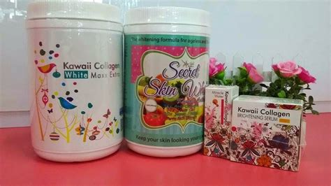 Collagen Kawaii secret skin kawaii kolagen set jihan