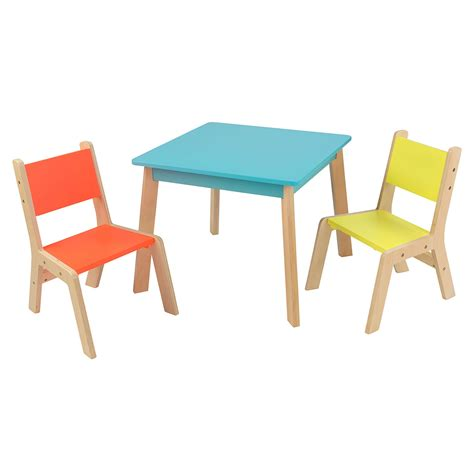 table and chairs with bench kids table chair sets walmart com