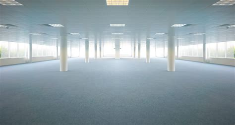 how to use spaces empty office spaces using filters and adjustment layers