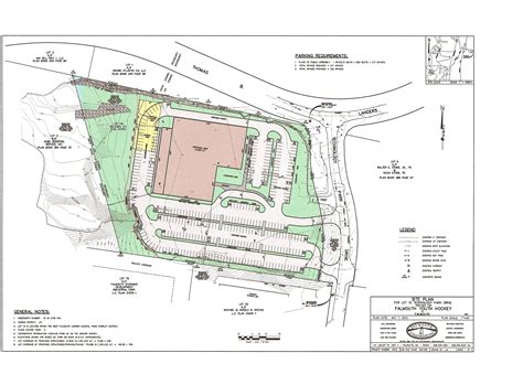 the site site plan falmouth arena