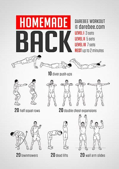 back workout workouts by neilarey darebee