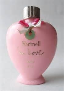 Wood Display Cabinet Vintage Norman Hartnell In Love Perfume Perfumed Talc 80g