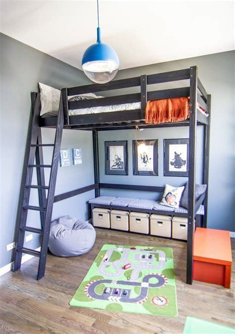 loft bedroom ideas raise the roof kids loft bed inspiration kiddy loft 12149 | 1f44bb31ae1bf6616450d564da35fcfc