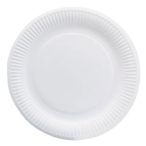 Paper Plates - 6 paper plates white package 100 each staples 174