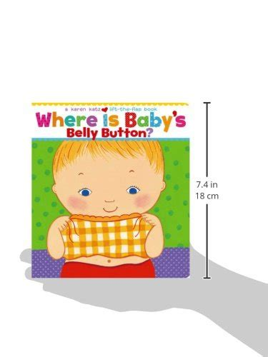where is babys belly 0689835604 where is baby s belly button a lift the flap book toddler