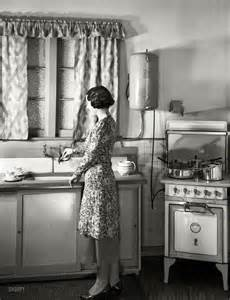 Hands Free Kitchen Faucets shorpy historic picture archive dream kitchen 1930s