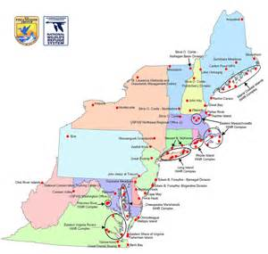 us northeast map map of region 5