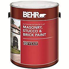 shop brick stucco masonry paint at homedepot ca the home depot canada