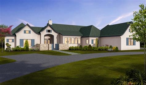 european house plans one story one story european house plan with room 430026ly