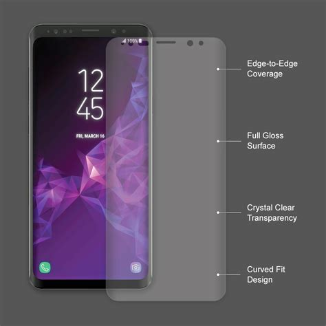 Remax Pet Cover Curved Screen Guard Samsung Galaxy S6 Diskon pet curved screen protector samsung galaxy s9 plus