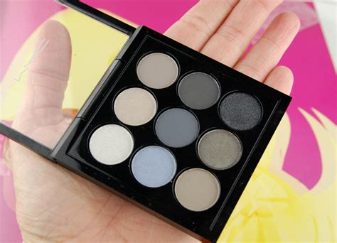 Mac Eyeshadow 8 Colour 2 Blush On mac cosmetics navy times nine eyeshadow palette look 2 swatch and review
