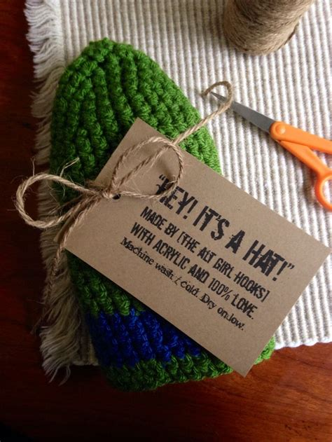 Handmade Tags For Knitting - 17 best images about tags for handmade items on