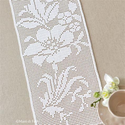 schemi bordi uncinetto per tende lavori all uncinetto schemi e idee per tende bordure e