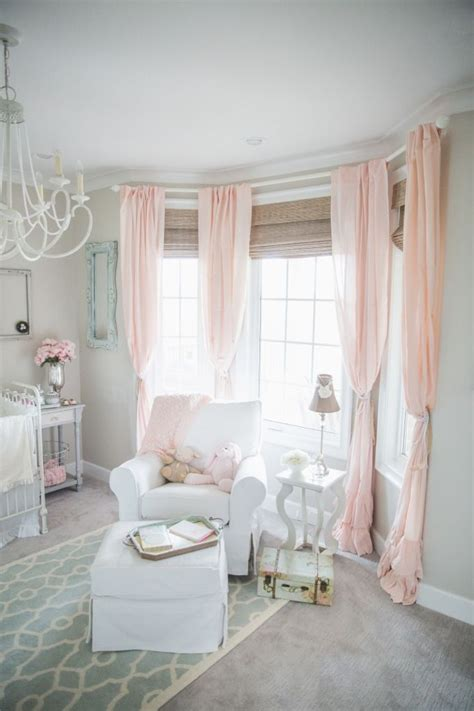Nursery Pink Curtains 25 Best Ideas About Nursery On