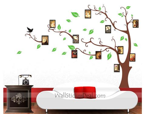 Wall Sticker Photo Frames memory tree photo frame wall stickers wallstickerdeal com