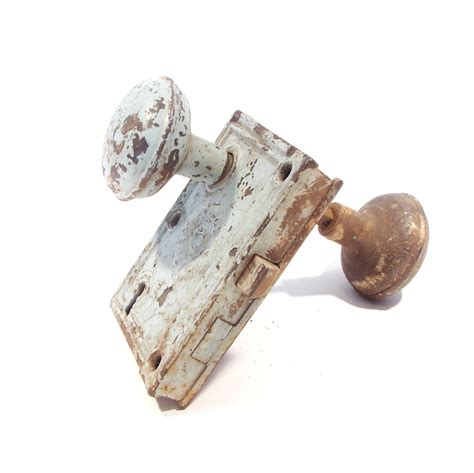 Door Knobs Sale by Sale Antique Door Knob With Back Plate Sale By Vintagestation