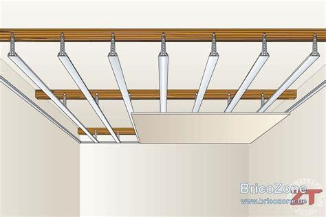 Ba13 Faux Plafond by Pose D Un Faux Plafond