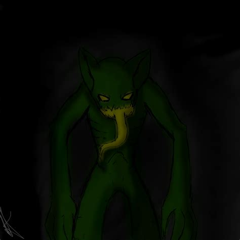 doodle ghoul ghoul doodle a horror speedpaint drawing by deadlythorn