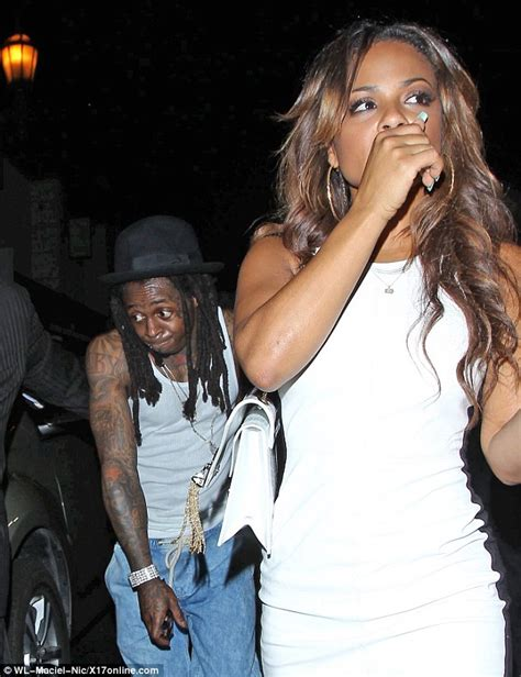 christina milian and lil wayne hand in hand amid claims