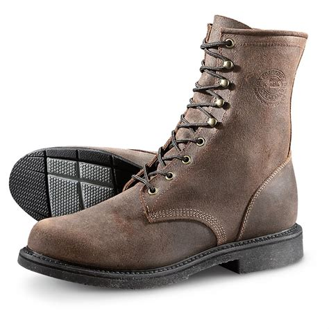 boots for mens work justin s mountain steel toe work boots 661705