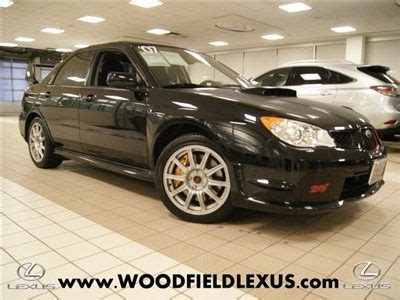 free car manuals to download 2007 subaru impreza seat position control sell used 2007 subaru wrx impreza manual excellent in schaumburg illinois united states
