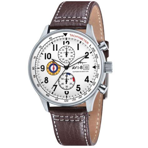 avi 8 hawker hurricane chronograph gents av 4011 01