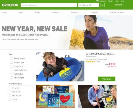 groupon new year groupon new year new sale markdowns on 50 000