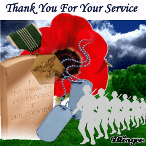 thank you for your service thank you for your service picture 102126472 blingee