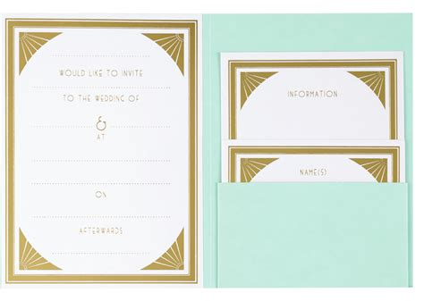 wedding invitations paperchase the high paperchase gatsby wedding