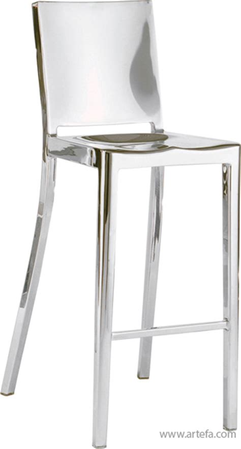 Stainless Steel Bar Stool Modern Furniture Stools Re 6399 Stainless Steel Bar Counter Stool Artefac Usa