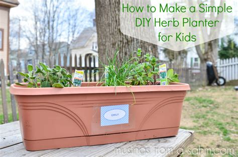 herb planter diy simple diy herb planters for living well