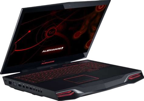 Laptop Dell Alienware 18 dell alienware m18 0704 gaming laptop i7 32gb 1tb 256gb ssd 18 4 inch 16gb gfx win8 1 buy