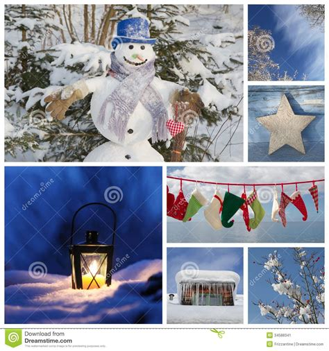 Card Collage Ideas - collage in blue ideas for decoration or a