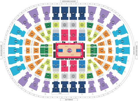 Palace Of Auburn Hills Floor Plan 2017 playoff faqs detroit pistons