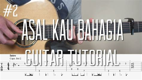 tutorial belajar fingerstyle guitar mattias krantz armada asal kau bahagia fingerstyle