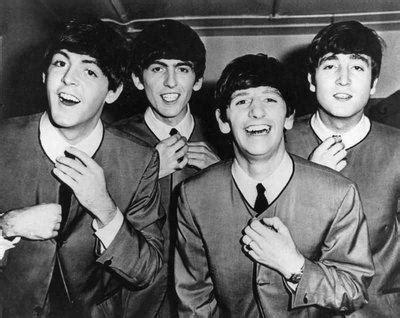 The Beatles Black 1 beatles black and white retro the beatles vintage