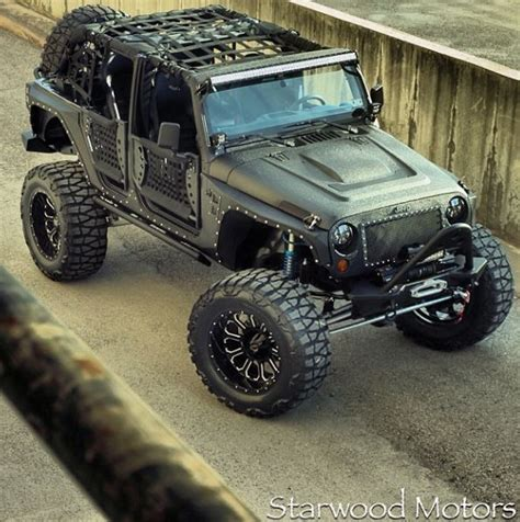 kevlar jeep starwood motors custom kevlar jeep fmj edition jeep