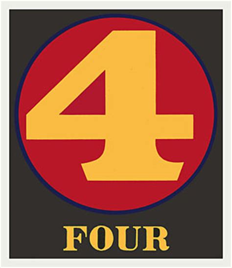 Number Search Indiana Robert Indiana Numbers Plate D At Pop Heaven