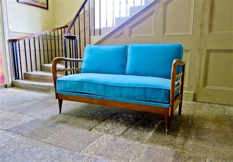 Velvet Modern Sofa Mid Century Modern Sofa Italian Design Velvet Sofa Alto Stile