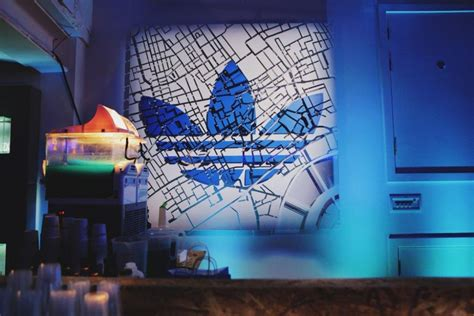 Wall Art Ideas For Bedroom adidas opens originals london flagship with global